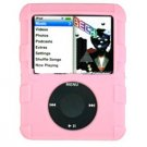 PINK Silicone Skin Cover w/ Anti-Slip Grip for Apple iPod Nano 3rd Gen