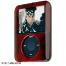 RED WOOD Crystal Case for Apple iPod Nano 3