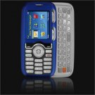 Hard Plastic Shield Protector Case for LG Rumor LX260 - Blue