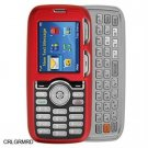 Hard Plastic Shield Protector Case for LG Rumor LX260 - Red