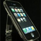 Clear Crystal Case w/ Belt Clip & Kickstand for Apple iPhone 3G