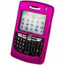 Blackberry 8800 Hard Plastic Proguard Case - Hot Pink