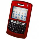 Blackberry 8800 Hard Plastic Proguard Case - Red