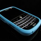 GeoDesign Soft Rubber Silicone Cover Case for BlackBerry Bold 9000 - Blue