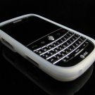 GeoDesign Soft Rubber Silicone Cover Case for BlackBerry Bold 9000 - Clear
