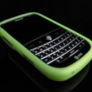 GeoDesign Soft Rubber Silicone Cover Case for BlackBerry Bold 9000 - Green