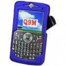 Hard Plastic Proguard for Motorola Q9M - Blue