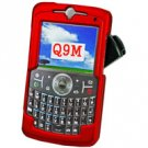 Hard Plastic Proguard for Motorola Q9M - Red