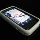 PREMIUM High-Quality Soft Silicone Skin Cover for Samsung Eternity A867 - Gray (Light)