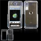 Hard Plastic Shield Cover Case for Samsung Behold T919 - Transparent Clear