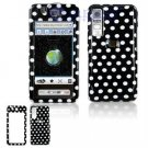 Hard Plastic Design Cover Case for Samsung Behold T919 - Polka Dots