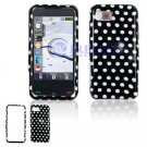 Hard Plastic Design Cover Case for Samsung Eternity A867 - Polka Dots