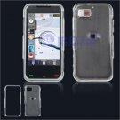 Hard Plastic Shield Cover Case for Samsung Eternity A867 - Transparent Clear