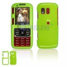 Hard Plastic Shield Cover Case for Samsung Rant M540 - Lime Green