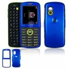 Hard Plastic Shield Cover Case for Samsung Gravity T459 - Blue