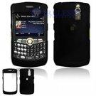 Hard Plastic Shield Cover Case for BlackBerry Curve 8350i (Sprint/Nextel) - Black