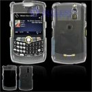Hard Plastic Shield Cover Case for BlackBerry Curve 8350i (Sprint/Nextel) - Clear