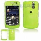 Hard Plastic Shield Cover Case for BlackBerry Curve 8350i (Sprint/Nextel) - Green