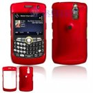 Hard Plastic Shield Cover Case for BlackBerry Curve 8350i (Sprint/Nextel) - Red