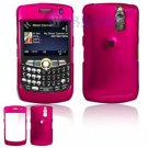 Hard Plastic Shield Cover Case for BlackBerry Curve 8350i (Sprint/Nextel) - Rose Pink
