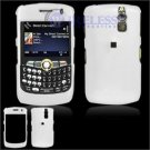 Hard Plastic Shield Cover Case for BlackBerry Curve 8350i (Sprint/Nextel) - White