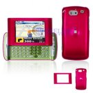 Hard Plastic Shield Cover Case for AT&T QuickFire - Rose Pink