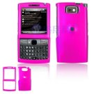 Hard Plastic Shield Protector Faceplate Case for Samsung Epix i907 - Hot Pink