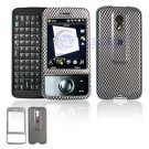 Hard Plastic Design Cover Case for HTC Touch Pro (SPRINT) - Carbon Fiber