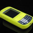 Soft Rubber Silicone Skin Cover Case for Palm Treo 800w - YELLOW