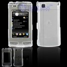 Hard Plastic Cover Case for LG Incite CT810 (AT&T) - Clear