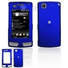 Hard Plastic Cover Case for LG Incite CT810 (AT&T) - Dark Blue