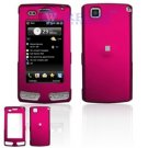 Hard Plastic Cover Case for LG Incite CT810 (AT&T) - Rose Pink