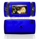 Hard Plastic Shield Protector Cover Case for Sidekick 2008 - Blue