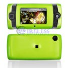 Hard Plastic Shield Protector Cover Case for Sidekick 2008 - Neon Green