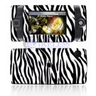 Hard Plastic Design Shield Protector Cover Case for Sidekick 2008 - Black / White Zebra