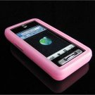 PREMIUM High-Quality Soft Silicone Skin Cover for Samsung Behold T919 - BABY PINK
