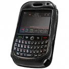 Elite Leather Case with Swivel Clip & Spring Belt Clip for BlackBerry Curve 8900