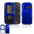 Hard Plastic Shield Cover Case for LG Rumor 2 LX265 - Blue