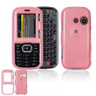 Hard Plastic Shield Cover Case for LG Rumor 2 LX265 - Pink