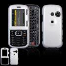 Hard Plastic Shield Cover Case for LG Rumor 2 LX265 - White