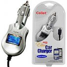 Micro USB Elite Car Charger with Smart Display & IC Chip Protection for LG Rumor 2 LX 265