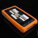Premium Soft Gel Rubber Cover for Samsung Memoir T929 - Orange