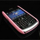 Back Cover Rubber Coating Hard Faceplate for BlackBerry Curve 8900 - Baby Pink