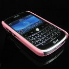 Back Cover Rubber Coating Hard Faceplate for BlackBerry Bold 9000 - Baby Pink