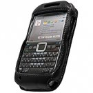 Full View Leather Cover Case w/ with Swivel Clip & Spring Belt Clip for Nokia E71