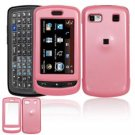 Hard Plastic Smooth Shield Cover Case for LG Xenon GR500 (AT&T) - Pink