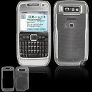 Hard Plastic Cover Case for Nokia E71 - Clear