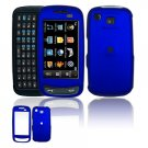 Hard Plastic Rubber Feel Cover Case for Samsung Impression A877 (AT&T) - Dark Blue