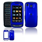 Hard Plastic Smooth Shield Cover Case for Samsung Impression A877 (AT&T) - Dark Blue
