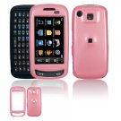 Hard Plastic Smooth Shield Cover Case for Samsung Impression A877 (AT&T) - Pink